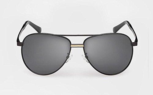 en du inspirées style Feuille rond Lennon Grise lunettes B vintage polarisées de métallique cercle soleil retro nfxFzRq