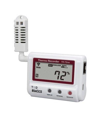 ティアンドデイ 温湿度データロガー おんどとり TR-72NW