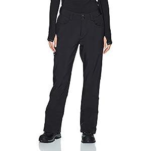 Arctix Women's Sarah Fleece-Lined Softshell Pants, Black, Small (4-6) Regular