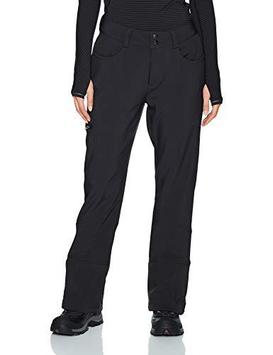 Arctix Women's Sarah Fleece-Lined Softshell Ski Snow Pants, Black, Medium