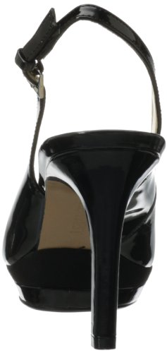 Nine West Women's Able Dress Pump,Black/Black Synthetic,8.5 M US