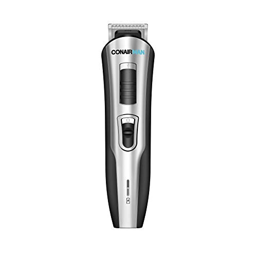 ConairMAN Lithium Ion Powered All-In-1 Men's Trimmer, Cordless/Rechargeable