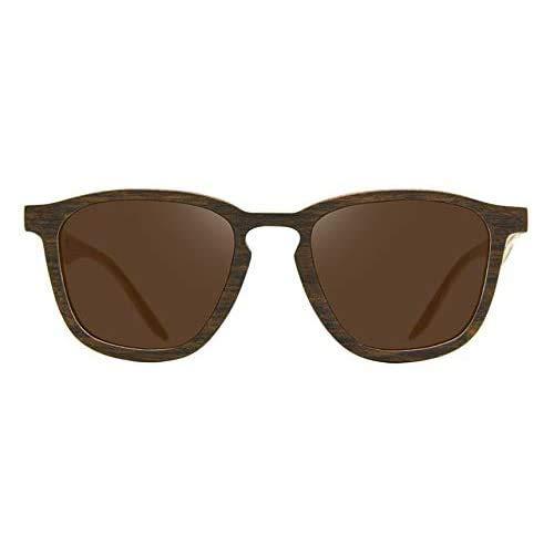 Óculos de sol de madeira Leaf Eco Charles Imbuia