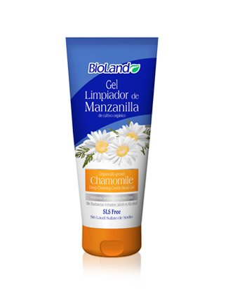 Amazon.com: Organic Chamomile Gel Cleaner for Skin 200ml./ Gel orgánica de Limpieza Profunda Cutis de Manzanilla 200ml: Beauty