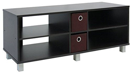 Furinno 16 5 Inch Entertainment Drawers Espresso