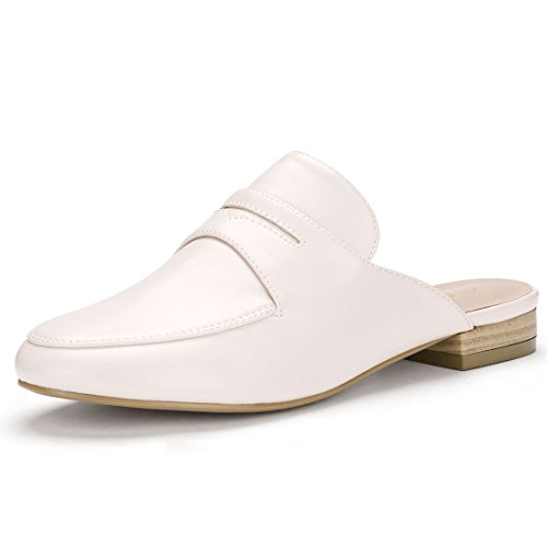 Backless Slip Mules Allegra On Loafer Women's K Pink Beige AfqTTvn4w