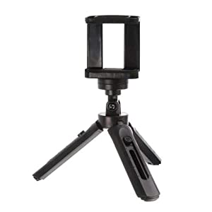 3Keys™ Mini Scalable Desktop Telescopic Tripod Support Phone Stand Holder - Black 11