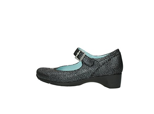 Mary Jane Anthracite De Opal Zapatos 40210 Wolky Suede Señoras qwI4FxnO