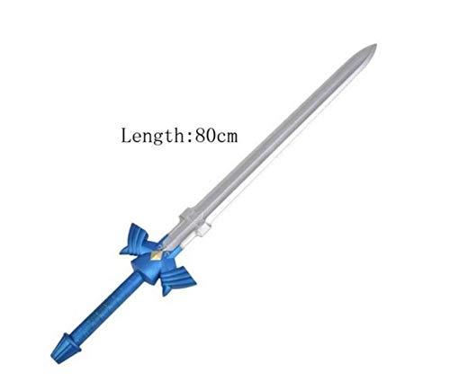 Costume Props - Wholesale Five Styles 80cm Sword Art Online SAO Zelda Legend Kirigaya Kazuto Elucidator/Dark Repulser Hobbit 1:1 PU Foam Model - by YPT - 1 PCs