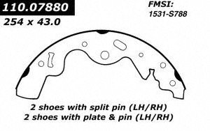 Centric Parts 111.07880 Brake Shoe by Centric
