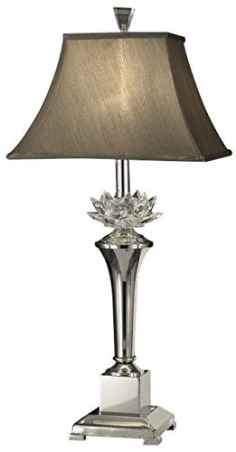 (Dale Tiffany GT11218 Paseo Crystal Table Lamp, 13