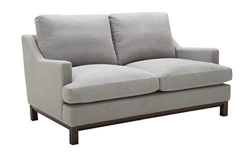 "Stone & Beam Genesse Sofa, 64""W, Smoky-Blue Fabric"