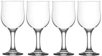 - Epure Venezia Collection 4 Piece Glassware Set (Verona Wine (12 oz))