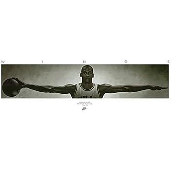 Amazon.com: MICHAEL JORDAN POSTER Famous Wings Print 72 x 24 - 6ft x ...