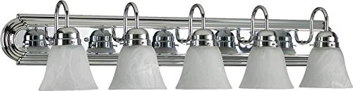 (Quorum 5094-5-114 Vanity, 5-Light, 500 Total Watts, Chrome)
