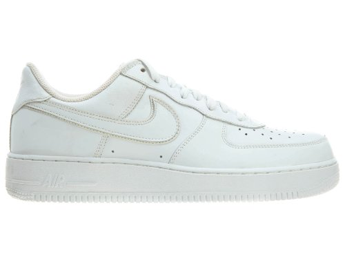 Nike Femmes Air Force 1 03 Blanc / Blanc 307109-116 Chaussure ...