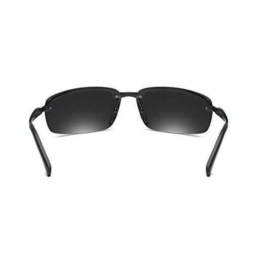 soleil Frame magnésium Couleur Gray frame miroir hommes Black plein en miroir de nouveau de ultra blue air ice lens miroir polarisé miroir miroir Gray lunettes lumineux Lens léger d'équitation Aluminium conduite d1Iwq1