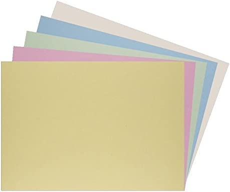 A6 Bright Green Coloured 80gsm Paper 160gsm Card Art Craft Sheets