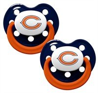 Chicago Bears Pacifier Set of 2