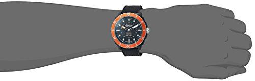 Alpina-Mens-Horological-Quartz-Stainless-Steel-and-Rubber-Smart-Watch-ColorBlack-Model-AL-282LBO4V6