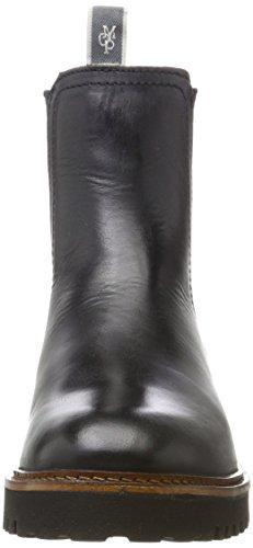 Femme Marc Schwarz Black O'Polo 70814235001108 Boots Chelsea Flat Heel qgwgrx7Y0
