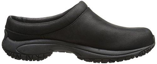 Merrell Encore Slide Pro Grip Nubuck antideslizante zapato de trabajo Black