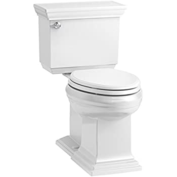 KOHLER K-3819-0 Memoirs Comfort Height Two-Piece Elongated 1.6 gpf ...