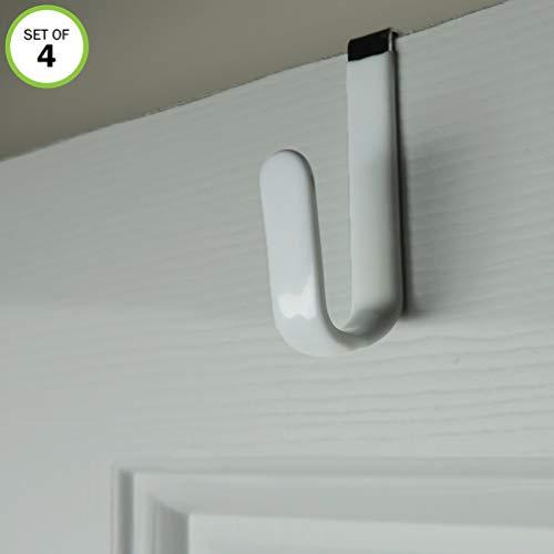 Evelots Over The Door Metal Hooks-Plastic ()