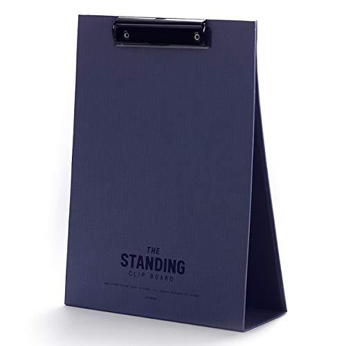 (JSTORY The Standing Clipboard Large Desk Easel Document Holder Large Vintage Blue)