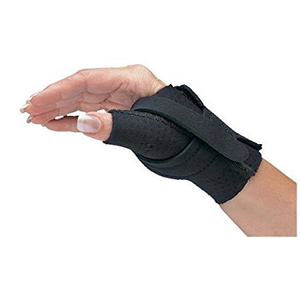 North Coast Medical NC79557 Comfort-Cool Thumb CMC Restriction Splint Right, Small Plus by North Coast Medical