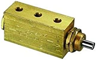 product image for Clippard FV-4 4-Way Plunger Valve, 10-32, 10 SCFM at 100 PSIG