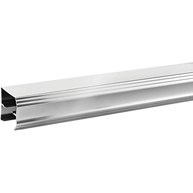Delta SDLSD60-C-R 48in. to 60in. Sliding Shower Door Track Assembly Kit in Chrome