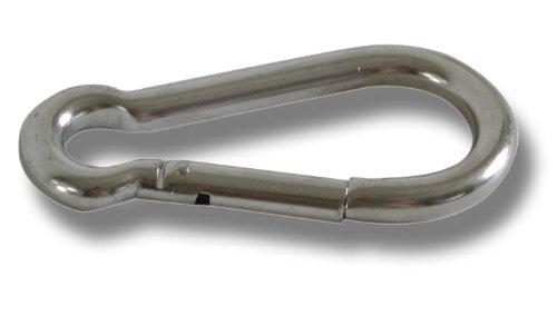 Moschettone inox aisi 316 8 mm Osculati