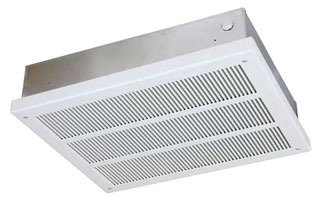 - Qmark EFF3007 Ceiling Mounted Fan Forced Heater - EFF Series (With Back Box) Navajo White