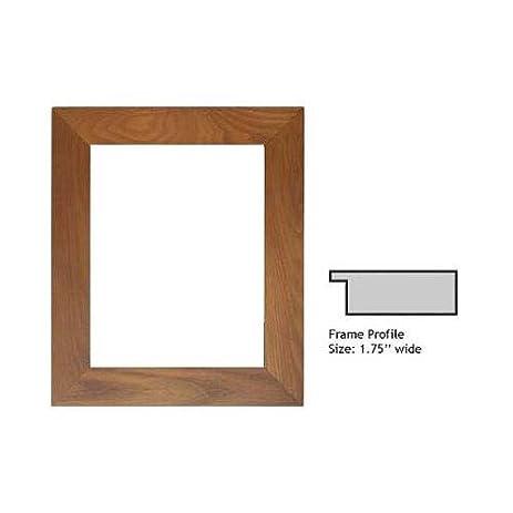Amazon.com - Milburn Designs Woodcraft Series Wood Frame for a 4x6 ...
