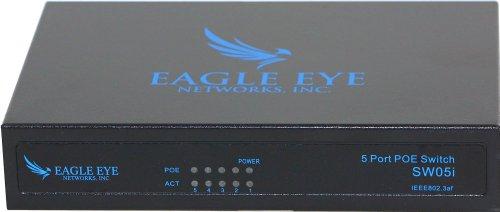 Eagle Eye Networks, Inc 5 Port Switch (4 Port POE + 1 Uplink) 10/100 Ethernet