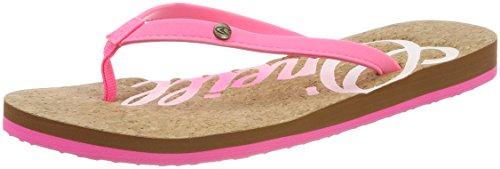 Fw Donna Pink Infradito O'neill Pink Flip Cork 4091 Flops Logo Shocking a7ddxFwq1