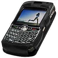 Cellet Blackberry 8300 Curve Elite Leather Case with Cellet Swivel (Cellet Blackberry Case)