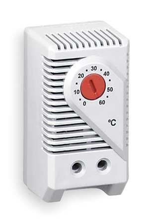 Line Voltage Mechanical Thermostat Provides Air Temperature Control In Large Enclosures