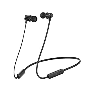 SoundPEATS Bluetooth Headphones Wireless Earbuds 4.1 Magnetic Bluetooth Earphones Lightweight Earbuds with Mic for in-Ear Earphones Sports(8 Hours Play Time, Noise Cancelling, Sweatproof) Upgrated