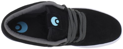 Osiris Chaveta 602379, Scarpe da skateboard unisex adulto Nero (Schwarz (Blk/Chr/Plaid))
