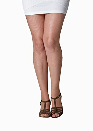 Fine Fishnet (Gipsy Women's 2001 Fine Fishnet Pantyhose SM natural)