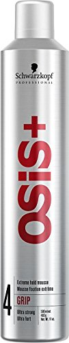 Schwarzkopf Osis+ Grip Extreme Hold Mousse, 17 Ounce