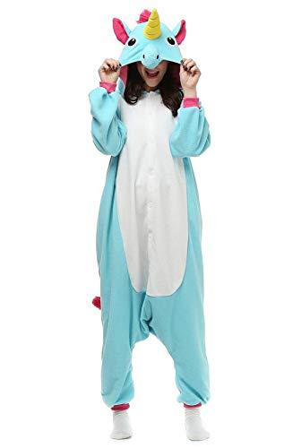 Adult Animal Onesies Unicorn Cosplay Costumes Onesie Halloween Sleepwear for Women Men