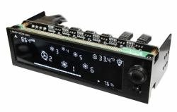 Lamptron CW611 Water Cooling Controller 6CH X 36W LCD Six2510-3pin ()