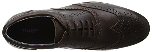 Para Brown Marrón Dune Hombre De Cordones brown Brogue Zapatos Branson X0WXz