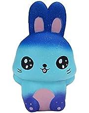 1pc Kleurrijke Squishy Cartoon Animal Stimulatie Slow Rising Stress Relief Squeeze Speelgoed Baby Kinder Gift