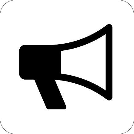 - Megaphone Transportation Addendum Sign, Funny Warning Stickers Decal,Vinyl,Safety Sign Label Decal,Self Adhesive,8x12