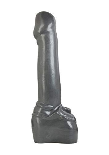 Doc Johnson American Bombshell - Atom Bomb - Vac-U-Lock and F Machine Compatible Dildo or Butt Plug - Gunmetal Grey by Doc Johnson (Image #2)