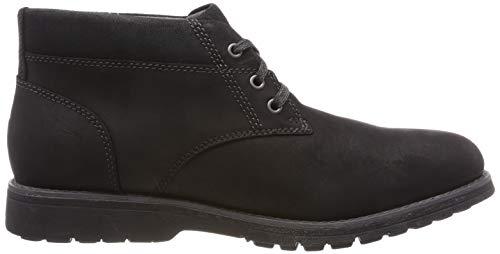 black Puppies Boots Plain Chukka Toe Black 000 Beauceron Hush Homme aARqw77
